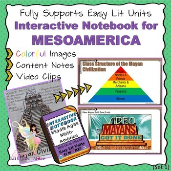 PowerPoint Companion for Middle Ages Mesoamerica (Maya, Aztec, Inca) INB ISN