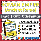 PowerPoint Companion for The Roman Empire (Ancient Rome) I