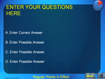 PowerPoint Concentration Quiz Show