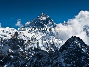 PowerPoint: Convergent Plate Boundaries Lesson
