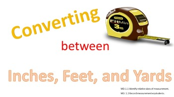 PowerPoint: Convert Between Inches, Feet, and Yards