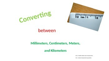 PowerPoint: Convert Millimeters, Centimeters, Meters, and
