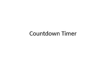 PowerPoint Countdown Timer - Animated Timers for Classroom
