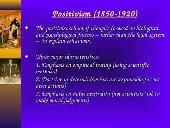 PowerPoint: Criminology Theories