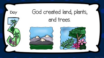 PowerPoint: Days of Creation