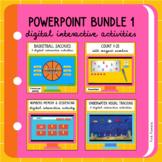 PowerPoint Digital Interactive Activities Bundle