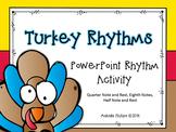 PowerPoint: Turkey Rhythms for the Kodaly or Orff Music Classroom