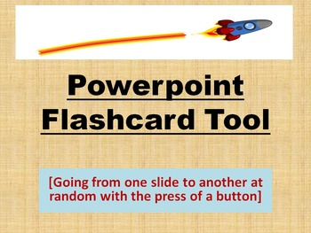PowerPoint Flashcards Macro Randomize Tool