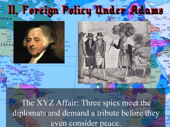 PowerPoint - Foreign Policy in the Early Republic