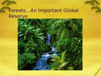 PowerPoint:  Forests