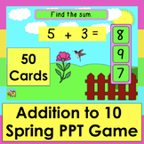 PowerPoint GAME Addition to 10 Spring Animations 50 Facts