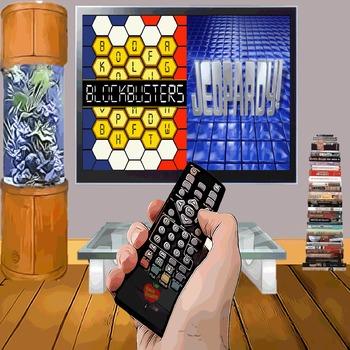 Blockbusters & Jeopardy Game Bundle - 2 Customizable Games
