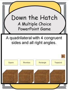 Down the Hatch (A PowerPoint Game Template)