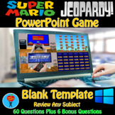 Jeopardy & Super Mario PowerPoint Game Bundle - 2 Customizable Games