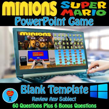 Minions & Super Mario Game Bundle - 2 Customizable Games
