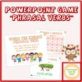 PowerPoint Game Phrasal Verbs - ELA/ESL English Vocabulary Group Activity