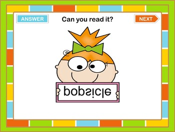 PowerPoint Game  Summer Words Reading Challenge