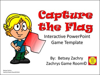 PowerPoint Game Template: Capture the Flag