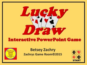 PowerPoint Game Template - Lucky Draw Interactive Game