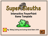 PowerPoint Game Template: Super Sleuth Interactive Game