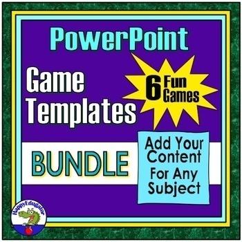 Powerpoint Game Templates Teaching Resources Teachers Pay Teachers