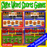 Fry Sight Words Sports Bundle