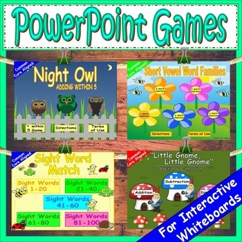 Growing Bundle PowerPoint Games