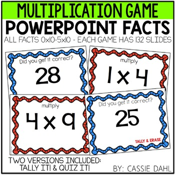 PowerPoint Games (Multiplication)