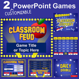 PowerPoint Games Pack - 2 Customizable Templates