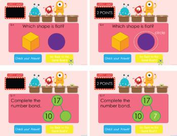 Kindergarten Spiral Review Growing Bundle