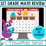 Back to School First Grade Math Review