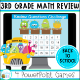 Back to School Third Grade Math Review