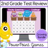Second Grade Spiral Review Growing Bundle