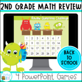 Back to School Second Grade Math Review