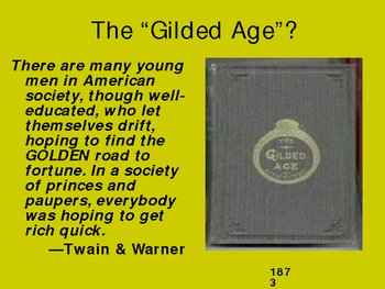 PowerPoint: Gilded Age