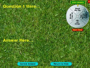 PowerPoint Golf Game
