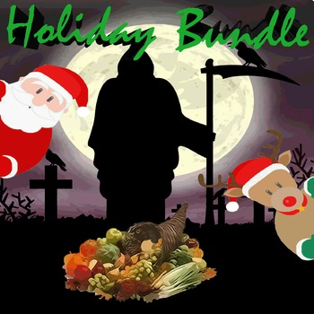 Holiday PowerPoint Bundle - 3 Customizable Games