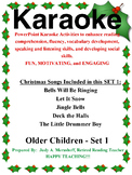 PowerPoint Holiday Karaoke Activities-Older Students-Set 1