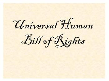 PowerPoint - Human Bill of Rights