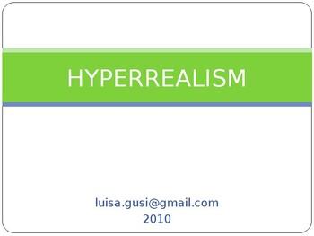 PowerPoint - Hyperrealism (Visual Arts)