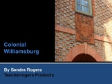 Wintertime in Colonial Williamsburg (5th Grade) PowerPoint