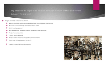 PowerPoint Industrial Revolution for AP Euro, AP World