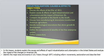 INDUSTRIALIZATION:PowerPoint-Day 1 (Causes/Effects_of_Industrial_Revolution)