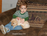 PowerPoint Inference Boy and Puppy