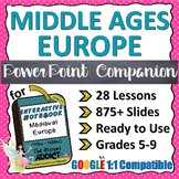 PowerPoint Companion for Middle Ages (Medieval) Europe