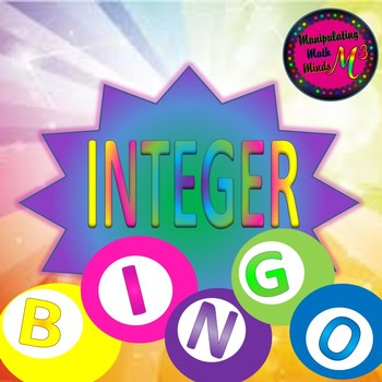 PowerPoint Integer Operations Bingo review game