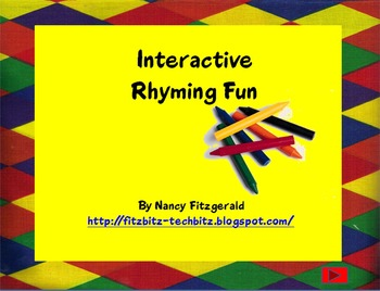 PowerPoint Interactive Rhyme Fun