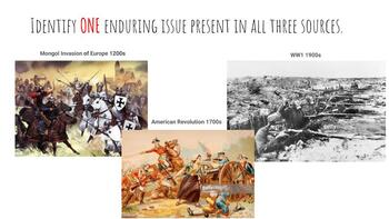 PowerPoint: Introducing Enduring Issues (new NYS Global History Regents)