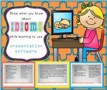 Idioms PowerPoint Activity