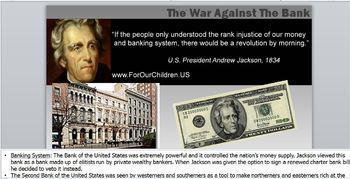 JACKSON-PowerPoint Lesson 2(7th U.S. President)Nullification Crisis/NationalBank